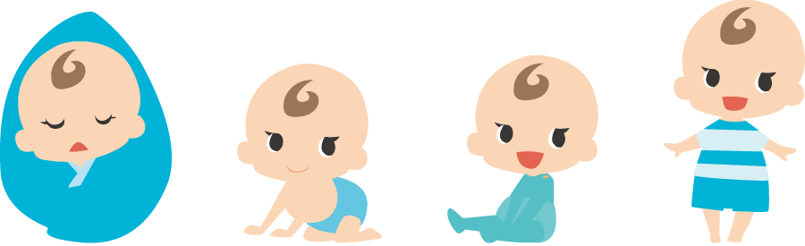 赤ちゃん成長