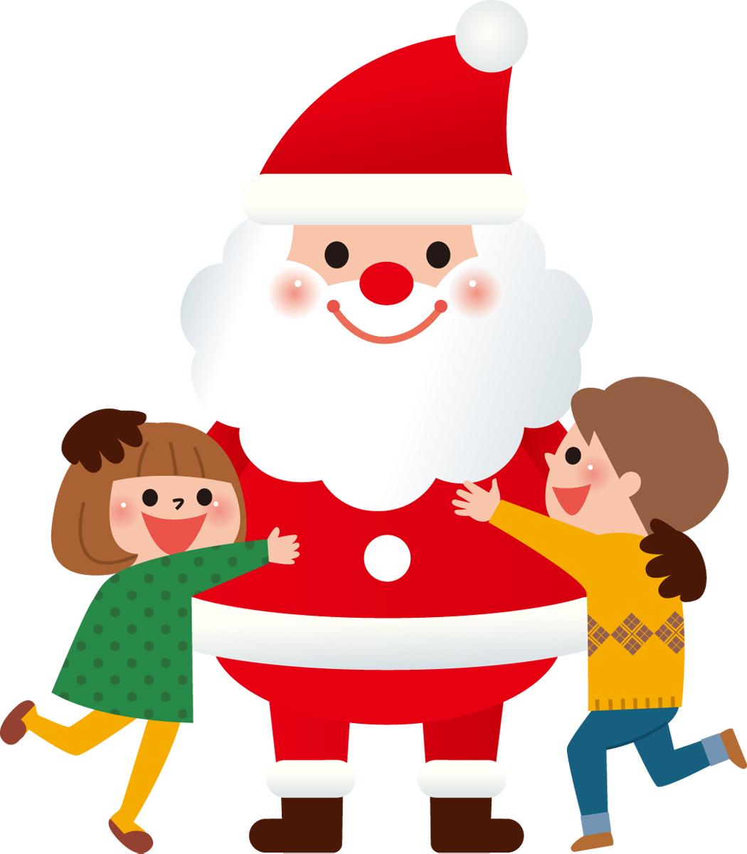 サンタと子ども