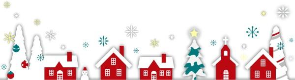 クリスマスフレーム下
